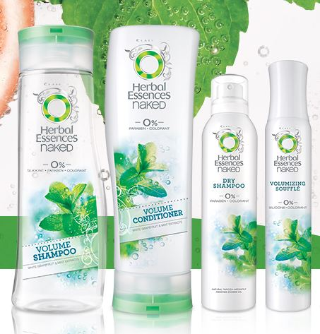 Herbal Essences Naked Volume Collection KIt
