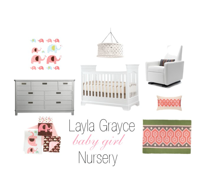 Layla Grayce Baby Girl Nursery
