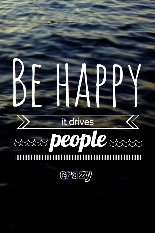 I Want to Drive People Crazy