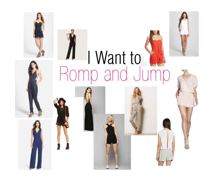 I Want to Romp and Jump