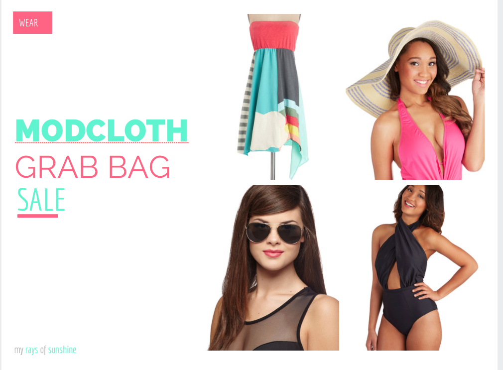 ModCloth Grab Bag Sale
