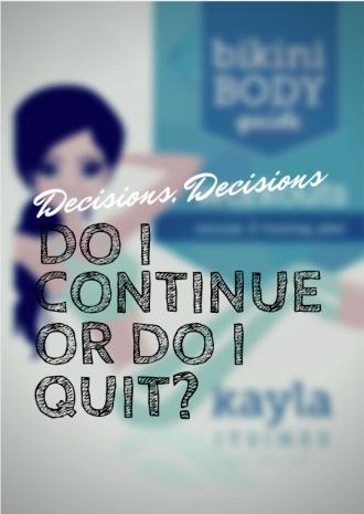 Should I Continue or Quit Kayla Itsines' Bikini Body Guide