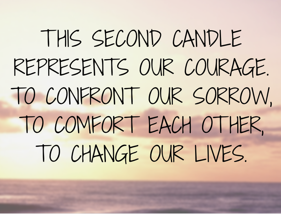 Second Candle Of Courage
