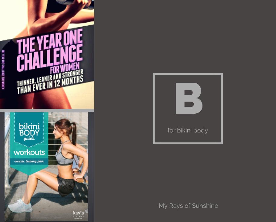 Plans To Get A Bikini Body In 2015