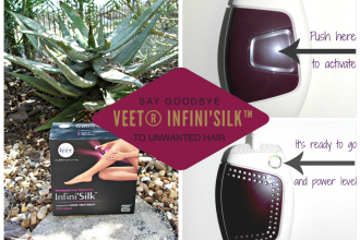 Say Goodbye To Unwanted Hair With Veet® Infini'Silk™