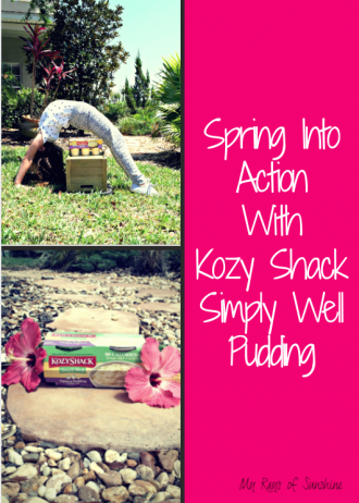 Spring Into Action With Kozy Shack Simply Well Pudding