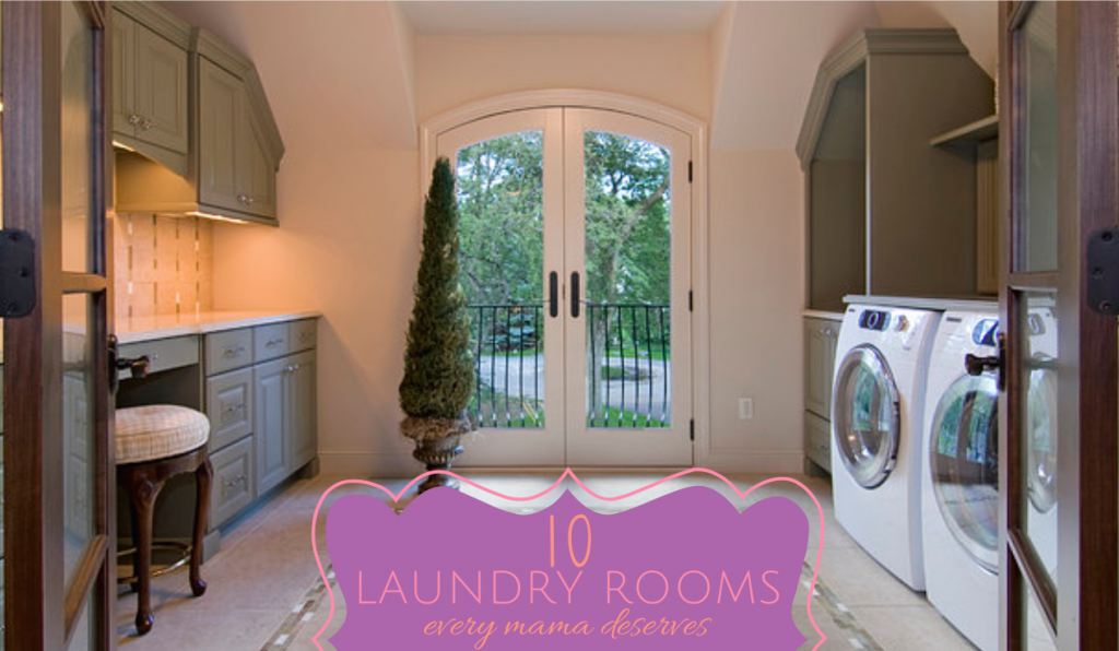 10 Laundry Rooms Every Mama Deserves