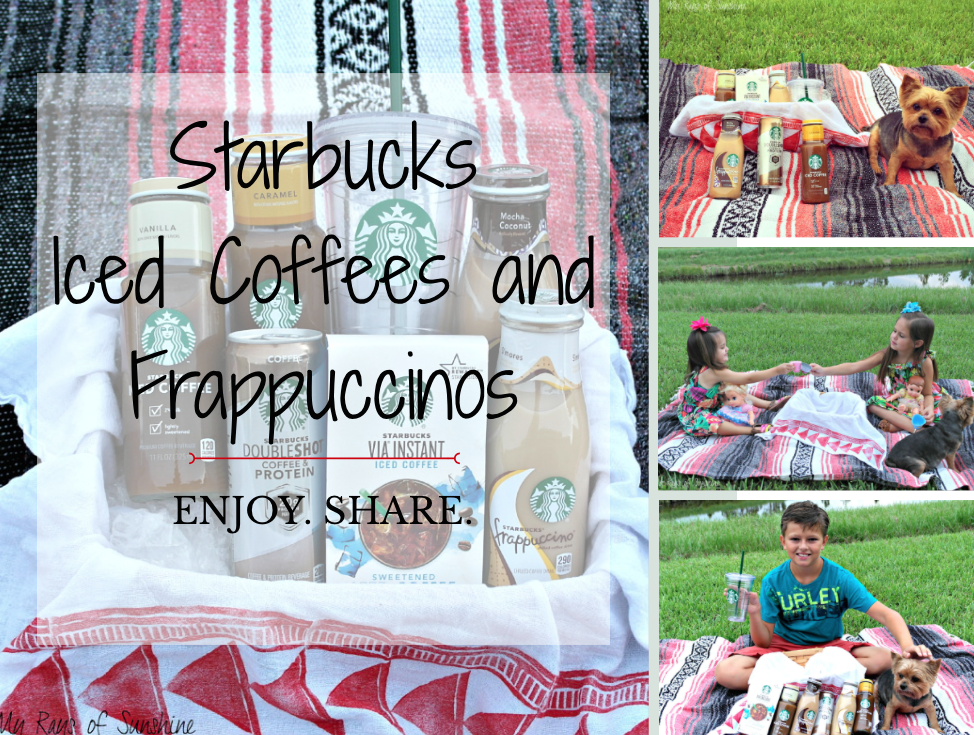 Starbucks Iced Coffees and Frappuccinos – Enjoy. Share.