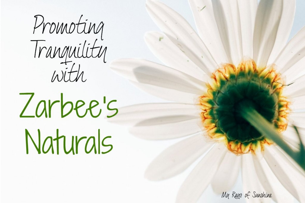 Promoting Tranquility with Zarbee's Naturals