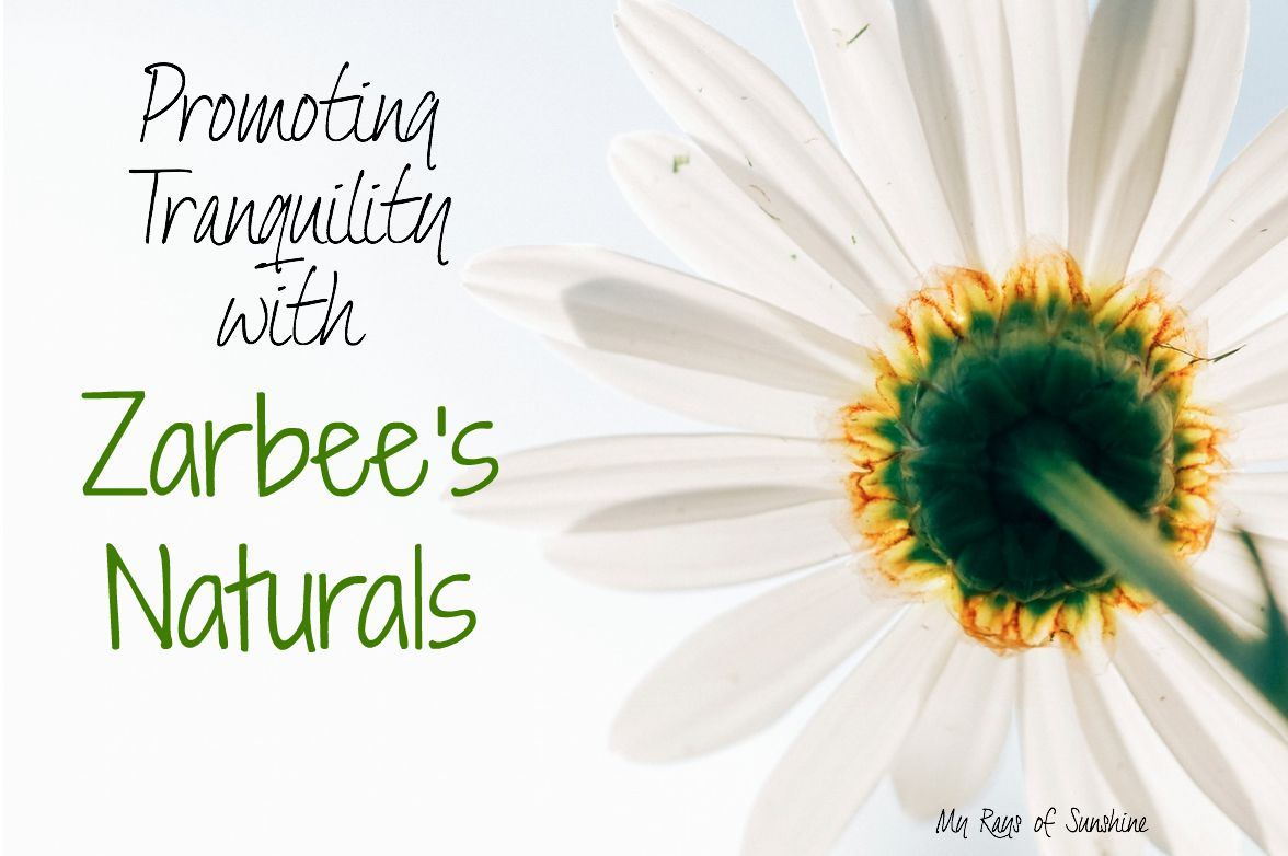 Promoting Tranquility with Zarbee's Naturals Vitamin Drink Mizes