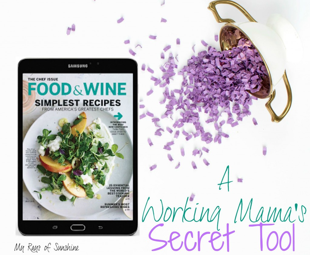 Samsung Galaxy Tab S2 NOOK - A Working Mama's Secret Tool
