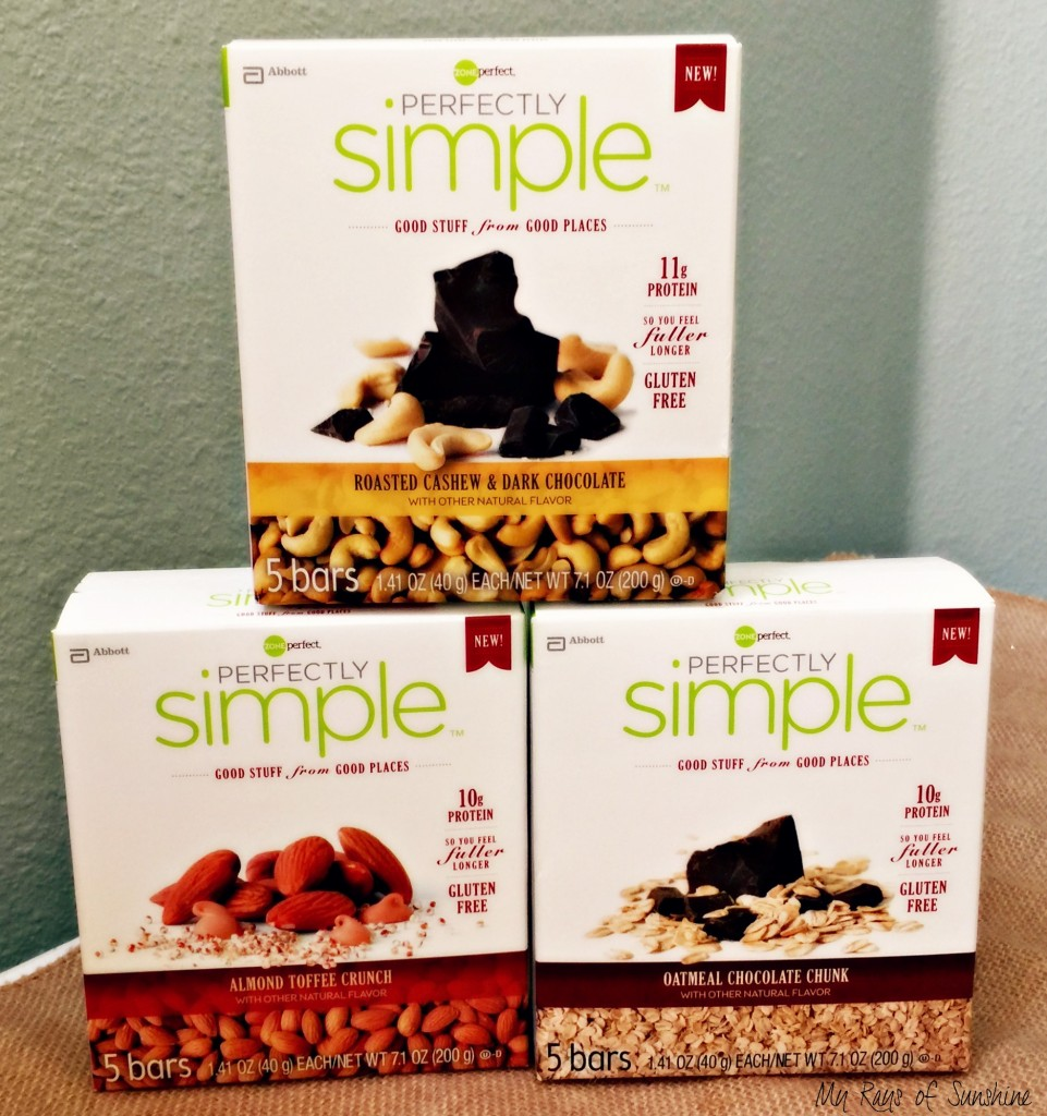 #FeelGooder With ZonePerfect Perfectly Simple Bars