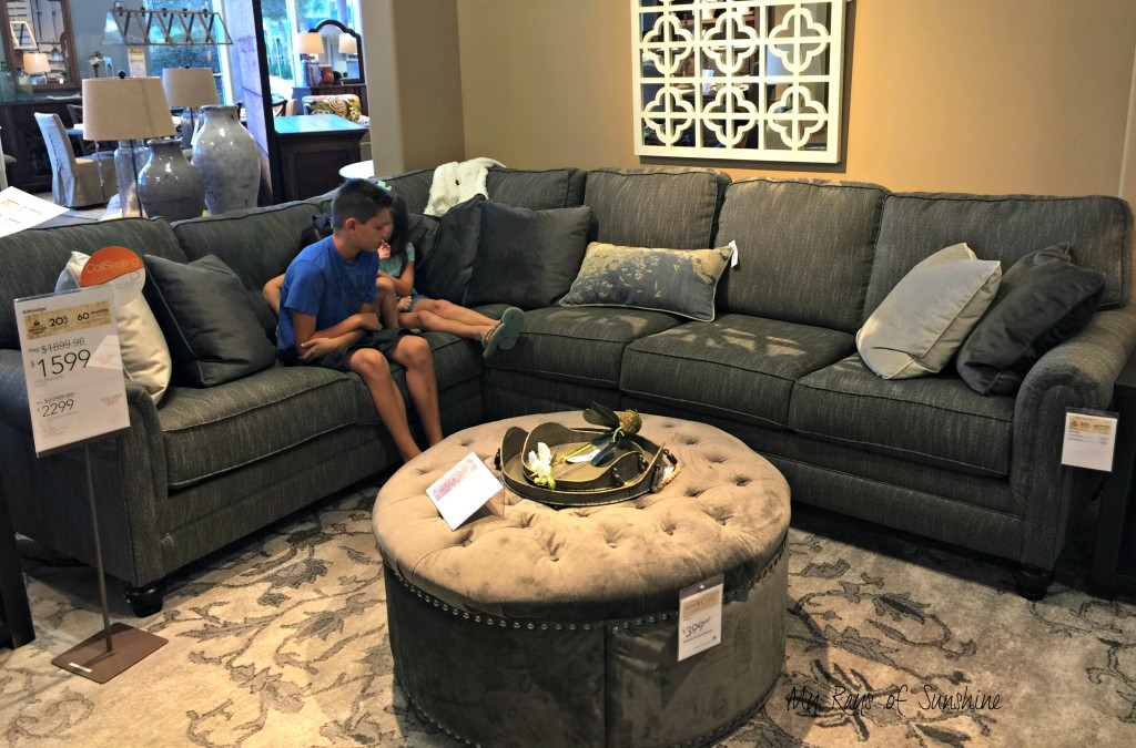 Ashley Kittredge Sectional Couch