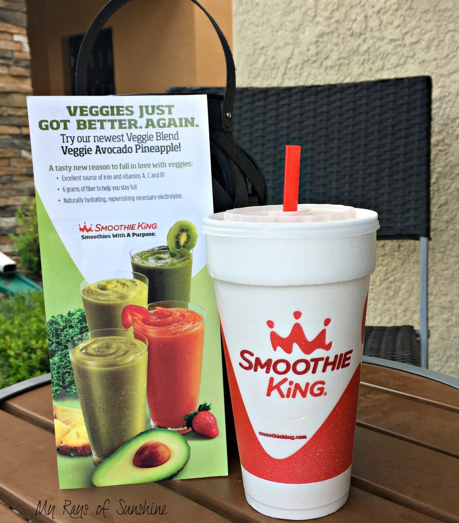 Drink Your Green Veggies at Smoothie King
