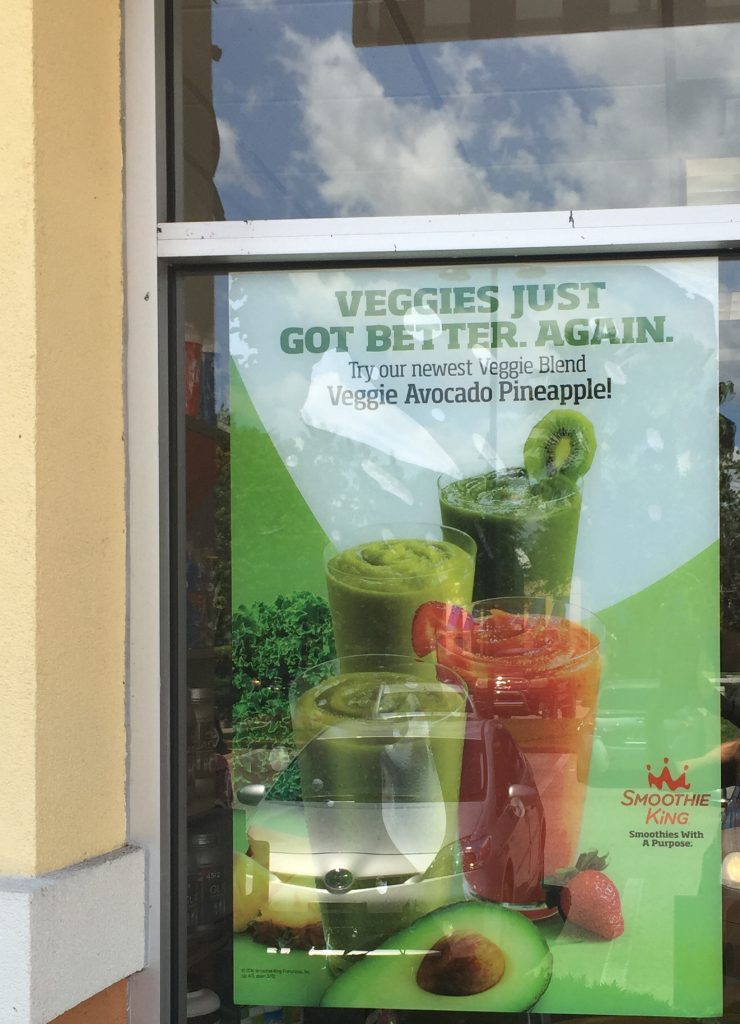 Drink Your Greens at Smoothie King