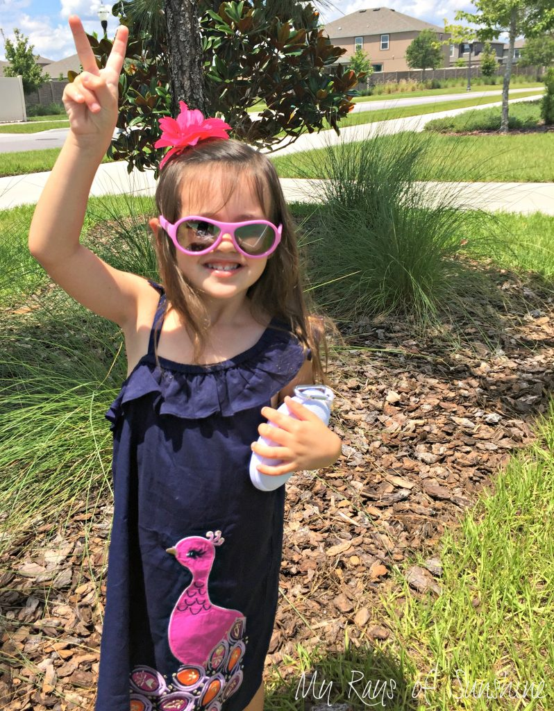 Peace Out UV Rays with Babiators #Ad