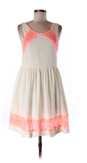 Pink Accent Free People Dress