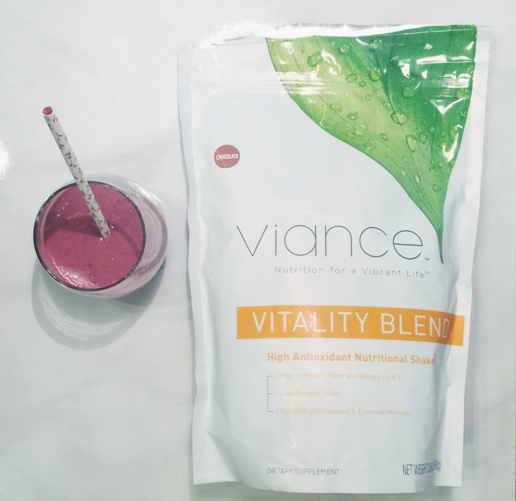 Viance Vitality Blend Power Berry Smoothie