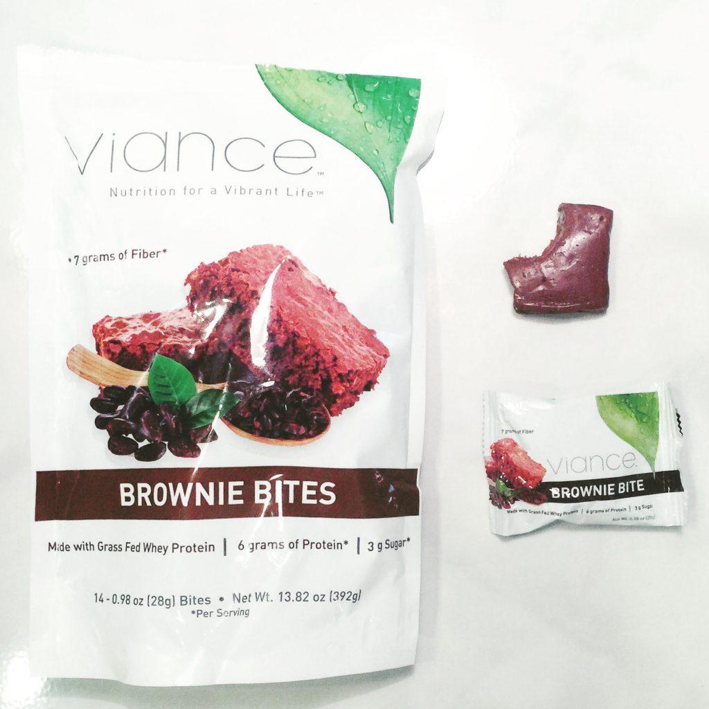 Viance Nutrition Brownie Bites