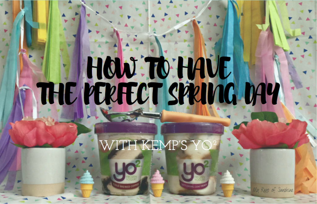 How to Have the Perfect Spring Day with with Kemp's Yo²
