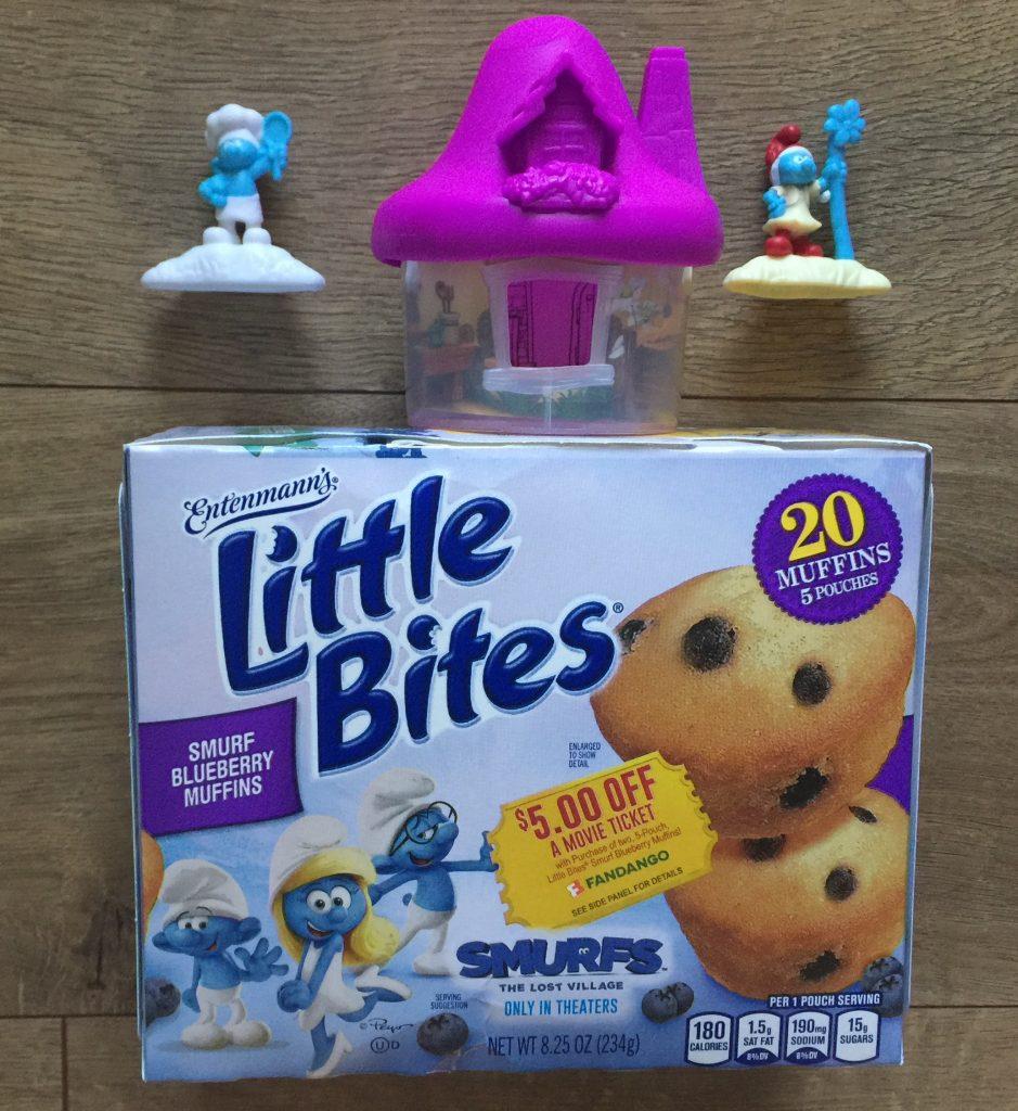 Entenmann's® Little Bites® Smurf Blueberry Muffins Giveaway