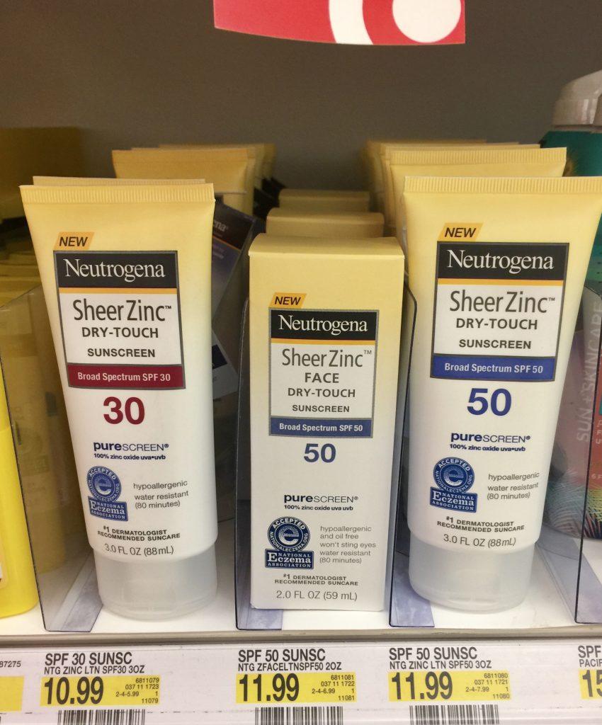 Neutrogena Sheer Zinc™