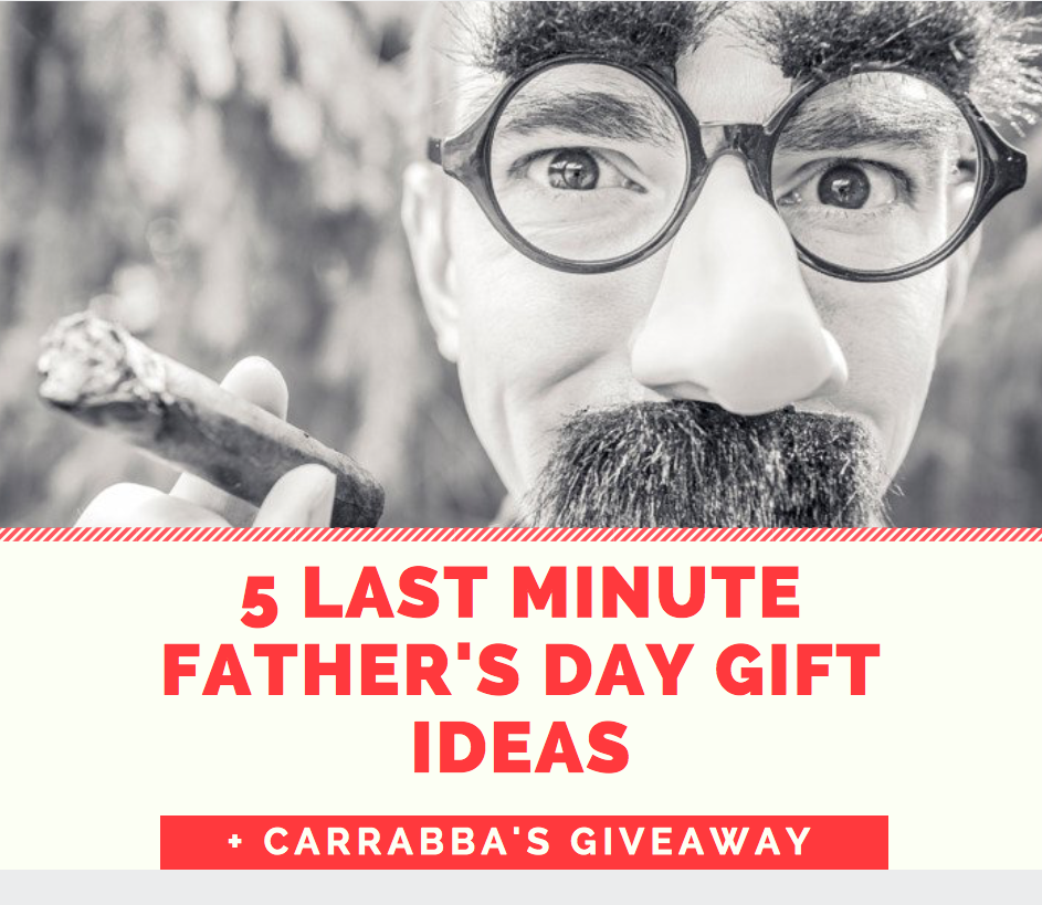 5 Last-Minute Father's Day Gift Ideas + Carrabba's Gift Card Giveaway