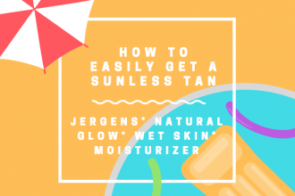 How To Easily Get a Sunless Tan with JERGENS® Natural Glow® Wet Skin® Moisturizer