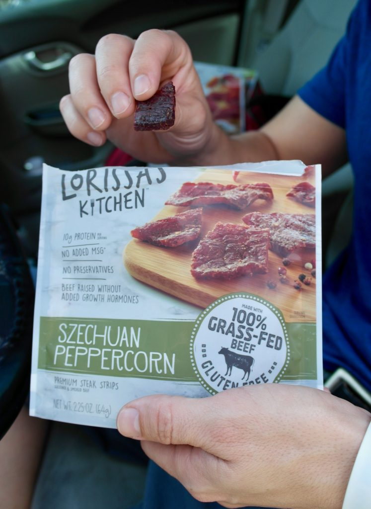 Lorissa's Kitchen Must Have Road Trip Protein Snack