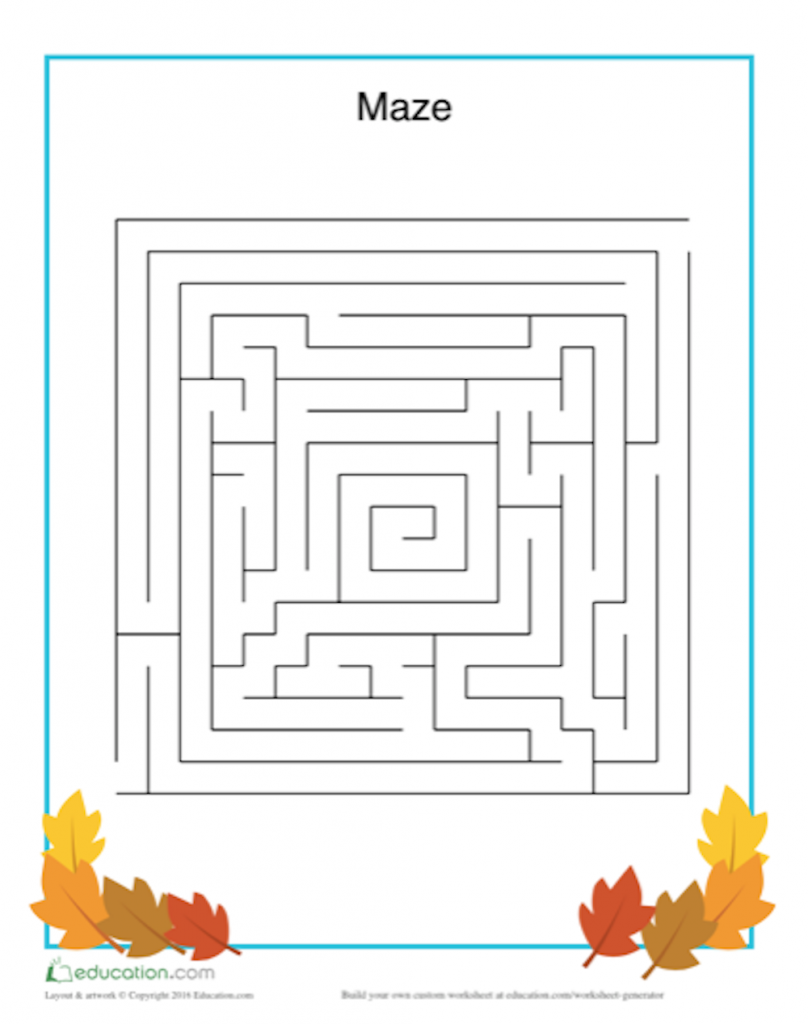 Fall into Fun with an Autumn Word Search