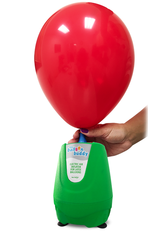Blowing Up Balloons is Easy with The Ballon Buddy