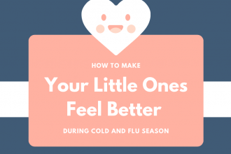 How to Make Your Little Ones Feel Better During Cold and Flu Season + $25 Visa Gift Card Giveaway