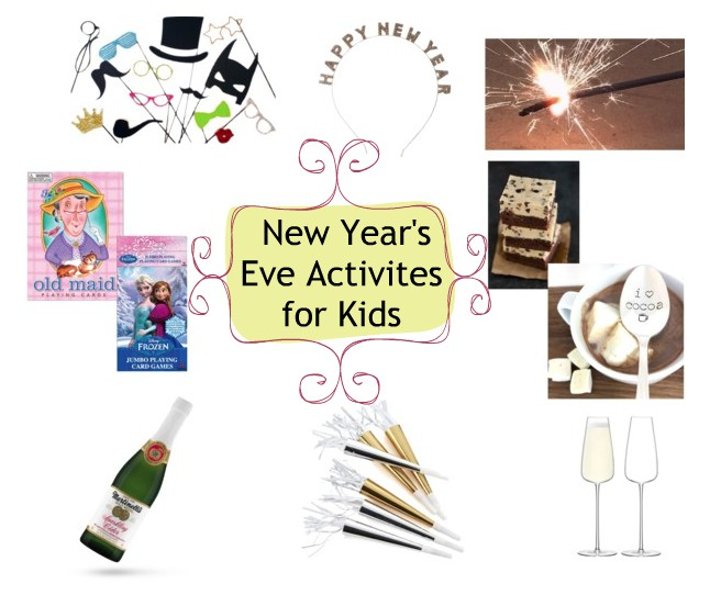 Fun New Year's Eve Activities For Kids