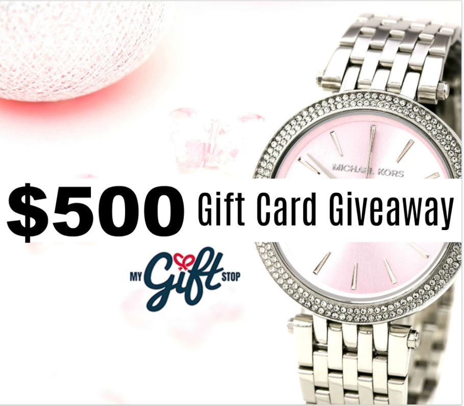 How About a $500 My Gift Stop Giveaway for Valentine's Day?