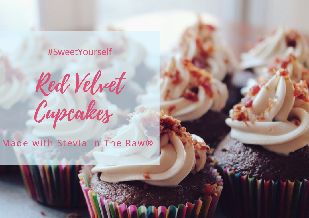 #SweetYourself with Red Velvet Cupcakes Made with Stevia In The Raw® + #Sweepstakes