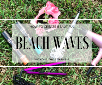 How-to Get Beautiful Beach Waves Without the Stiffness with Tresemme Compressed Micro Mist
