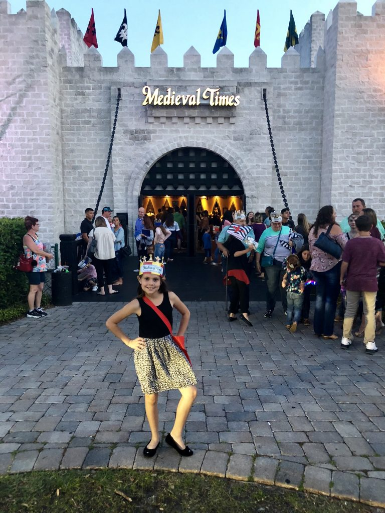 COME MEET THE NEW QUEEN AT MEDIEVAL TIMES IN ORLANDO