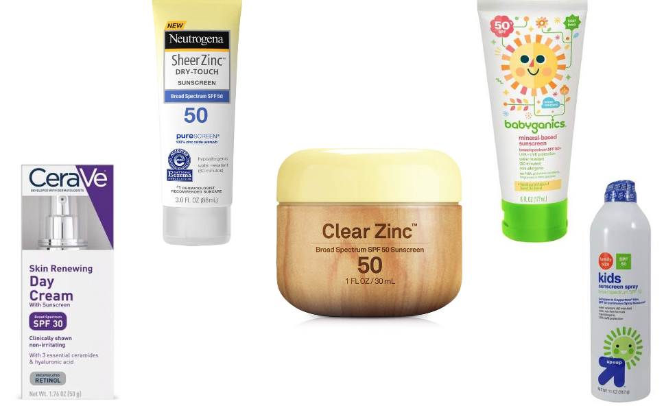 Five Favorite Drugstore Sunscreens