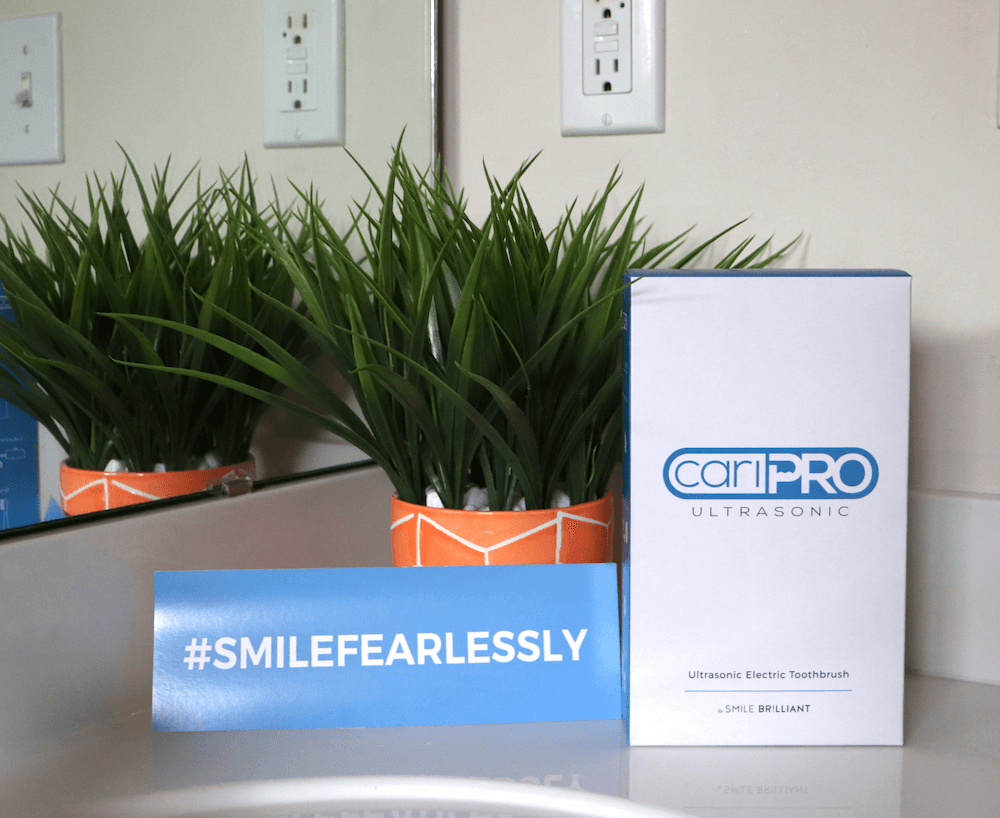 cariPRO™ Ultrasonic toothbrush + giveaway