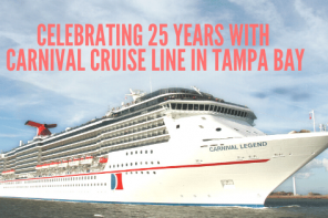 Celebrating 25 Years With Carnival Cruise Line in Tampa Bay