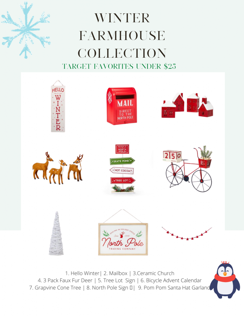 Target Winter Farmhouse Collection
